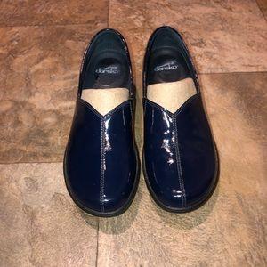 Dansko blue shoes clogs euc size 40